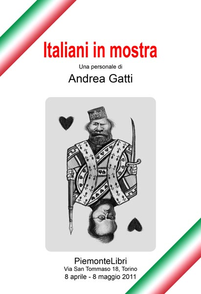 Italiani in mostra, book cover
